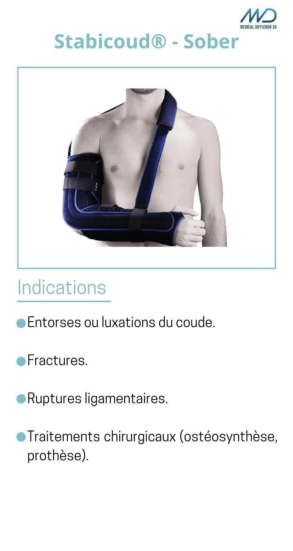 Stabicoud - Sober - orthèse de coude - espace md santé