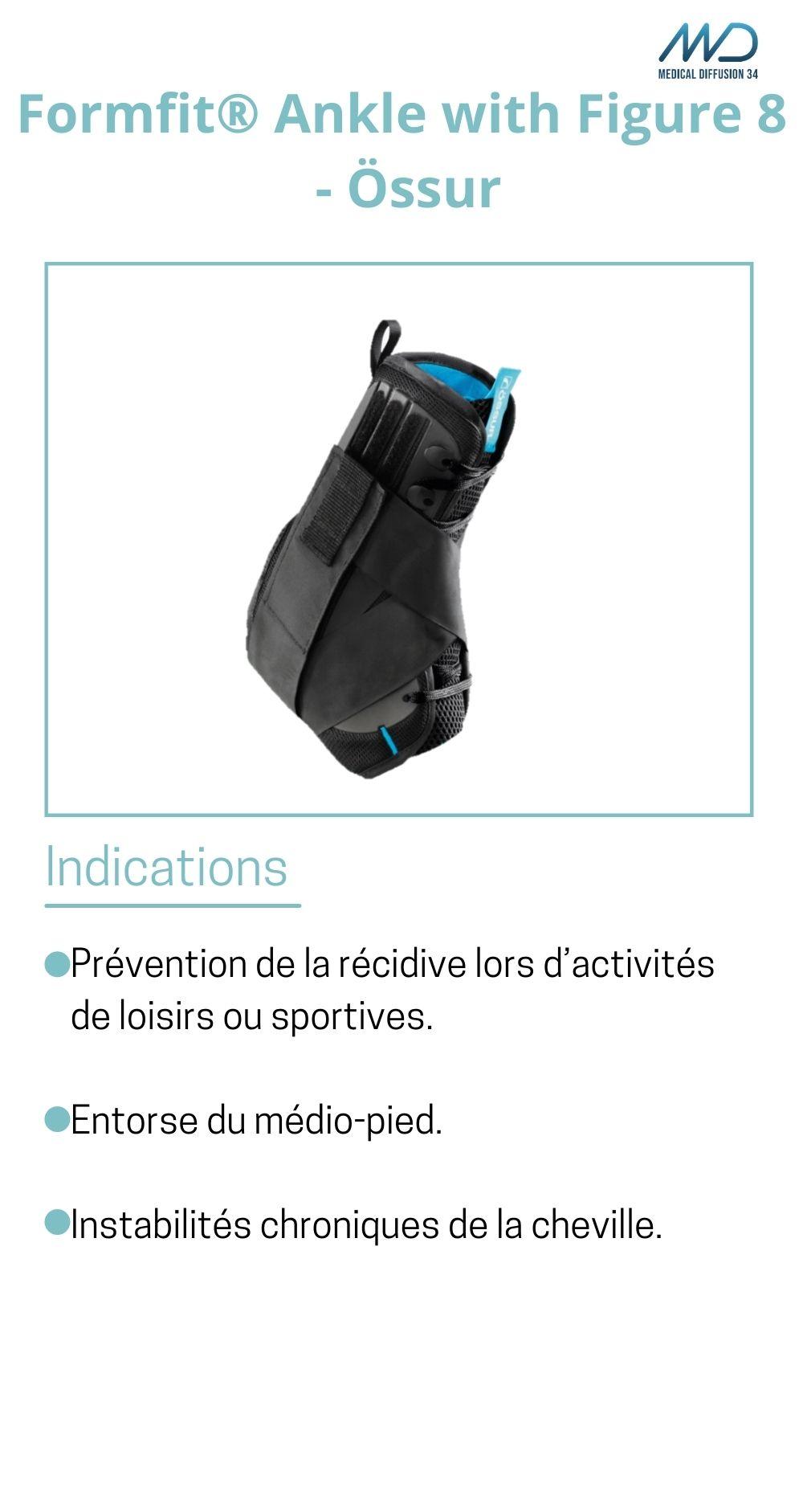 Formfit® Ankle with Figure 8 - Össur - espace md santé