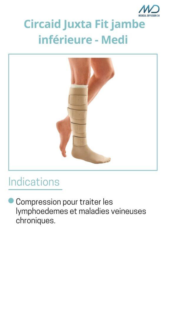 Circaid Juxta Fit jambe inférieure - Medi - espace md santé